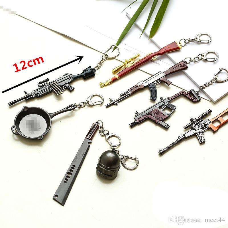 New Shooting Escape Game Keychain Accessories Gun More Practical