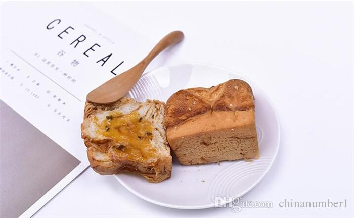 1000pcs Wooden Utensil Cutlery Butter Knife Cheese Dessert Jam Spreader Breakfast Tool Japanese Style Tableware butter knives wood C150