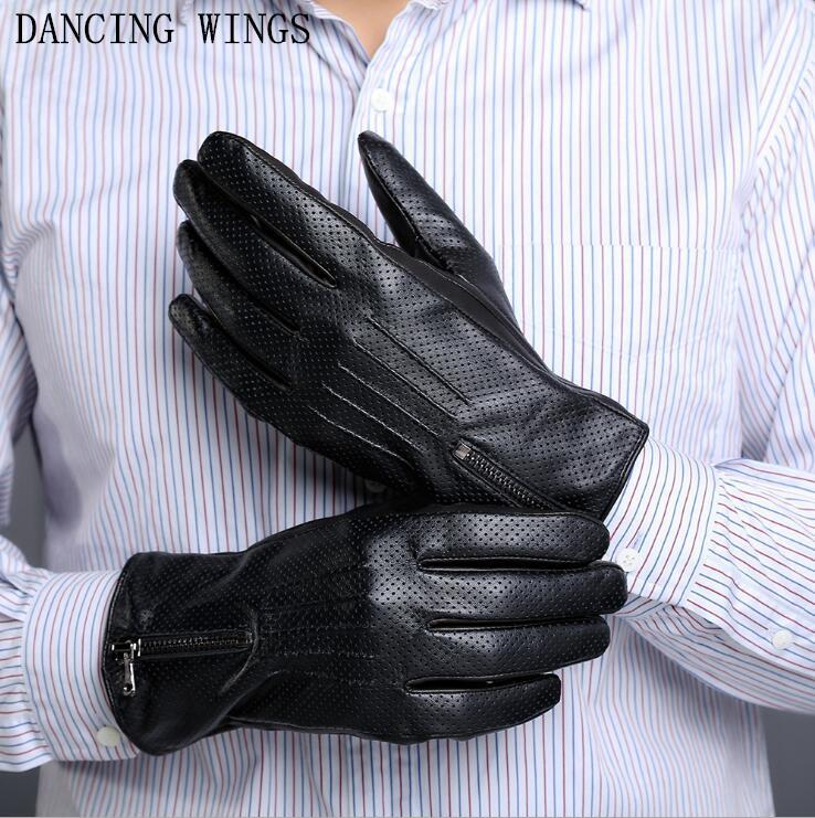 New Boys Mens Magic Fingerless Black Gloves with Gripper Palm Driving Fashion
