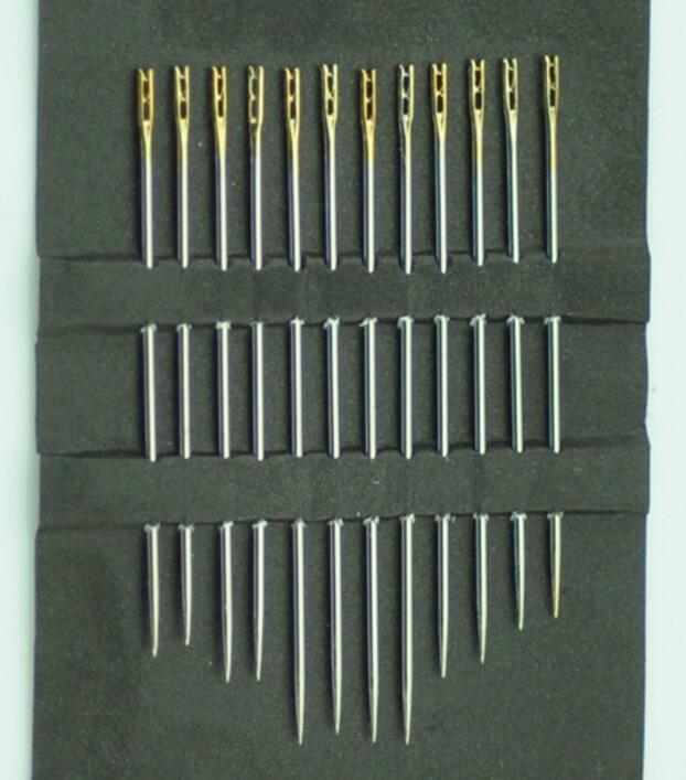 Embroidery Needles 12pcs//lot Blind Needles Self-Threading Hand Sewing Needles Set Embroidery Tool DIY Needlework Household Tools Sewing Supplies