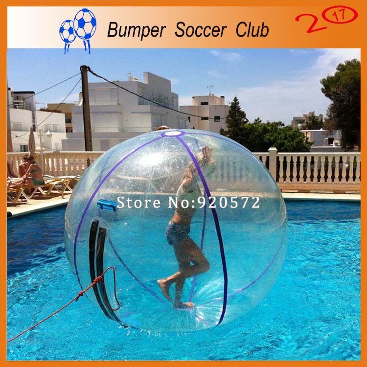 شحن مجاني 2.5 متر واضح نفخ المياه المشي الكرة ، الاستخدام التجاري المياه لعبة الكرة ، المياه راقصة الكرة
