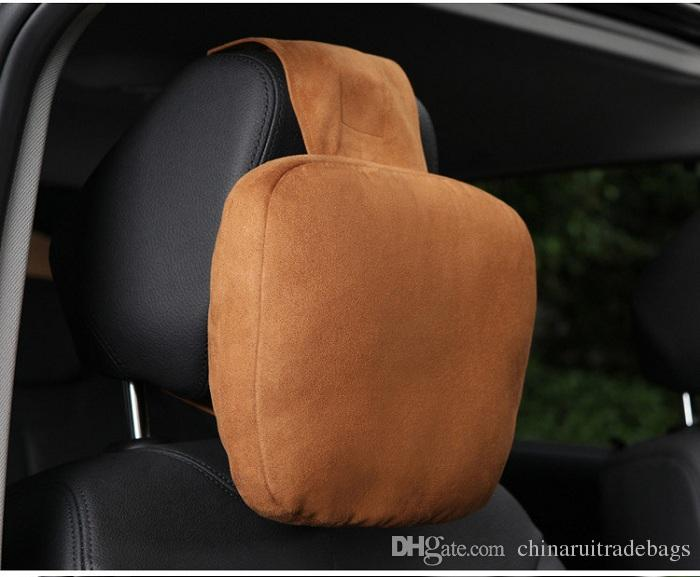 Siège-auto Oreiller appui-nuque Coussin repose-tête Universal Fit SUV berlines siège avant / arrière pièces pour automobiles espace mémoire mousse de luxe