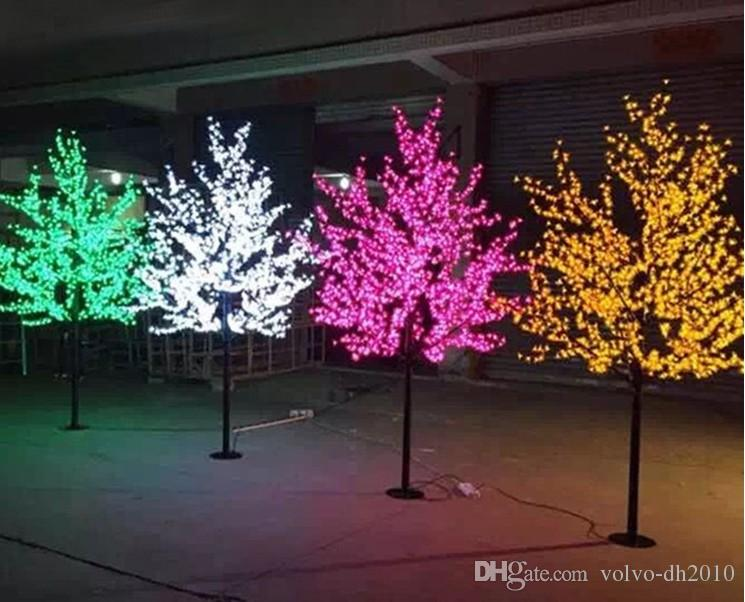 2020 Outdoor Waterproof Artificial 1 5m Led Cherry Blossom Tree