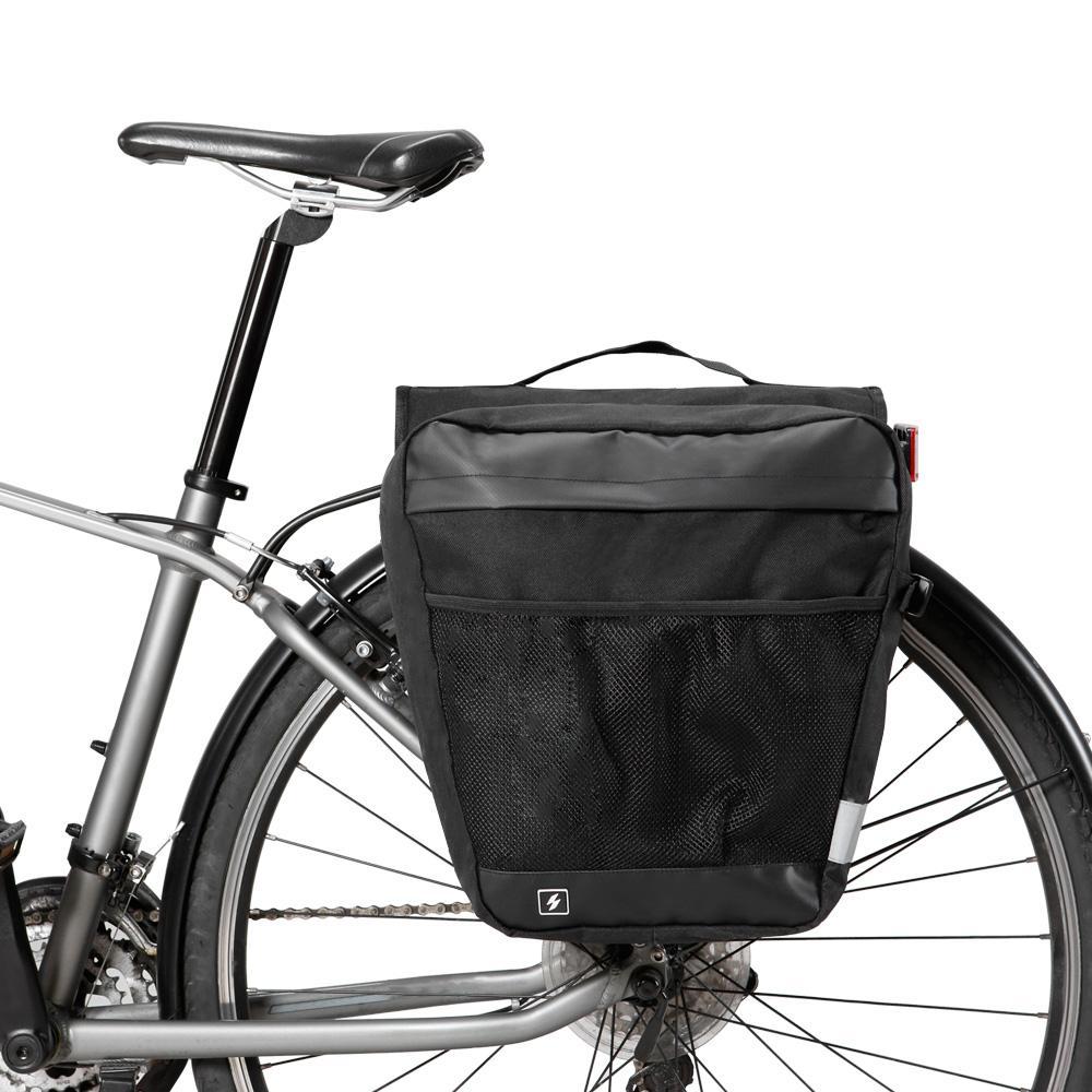 Sahoo 142004 Multifunktionsfahrradtaschen Fahrrad Pannier wasserdichte Fahrradtaschen Gepäckträger-Tasche Fahrrad Panniers Trunk-Pack