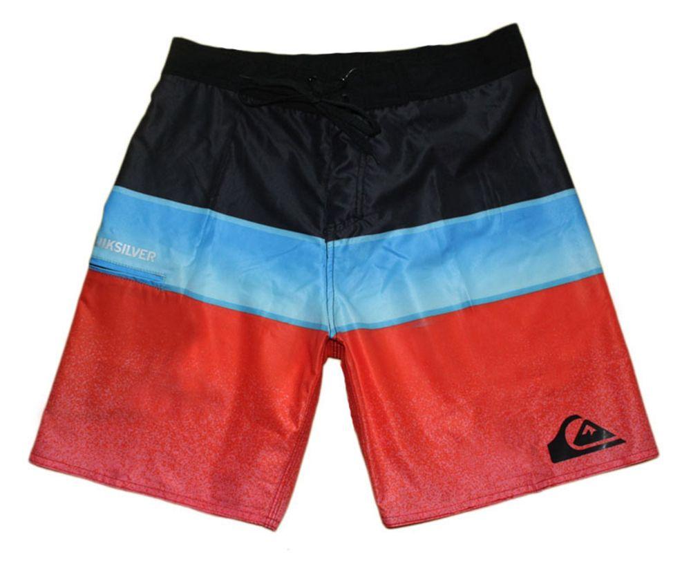 High Quality Elastane Spandex Swimwear Mens Swim Trunks Swimming Trunks Quick Dry Surf Pants Loose Bermudas Shorts Board Shorts Beachshorts