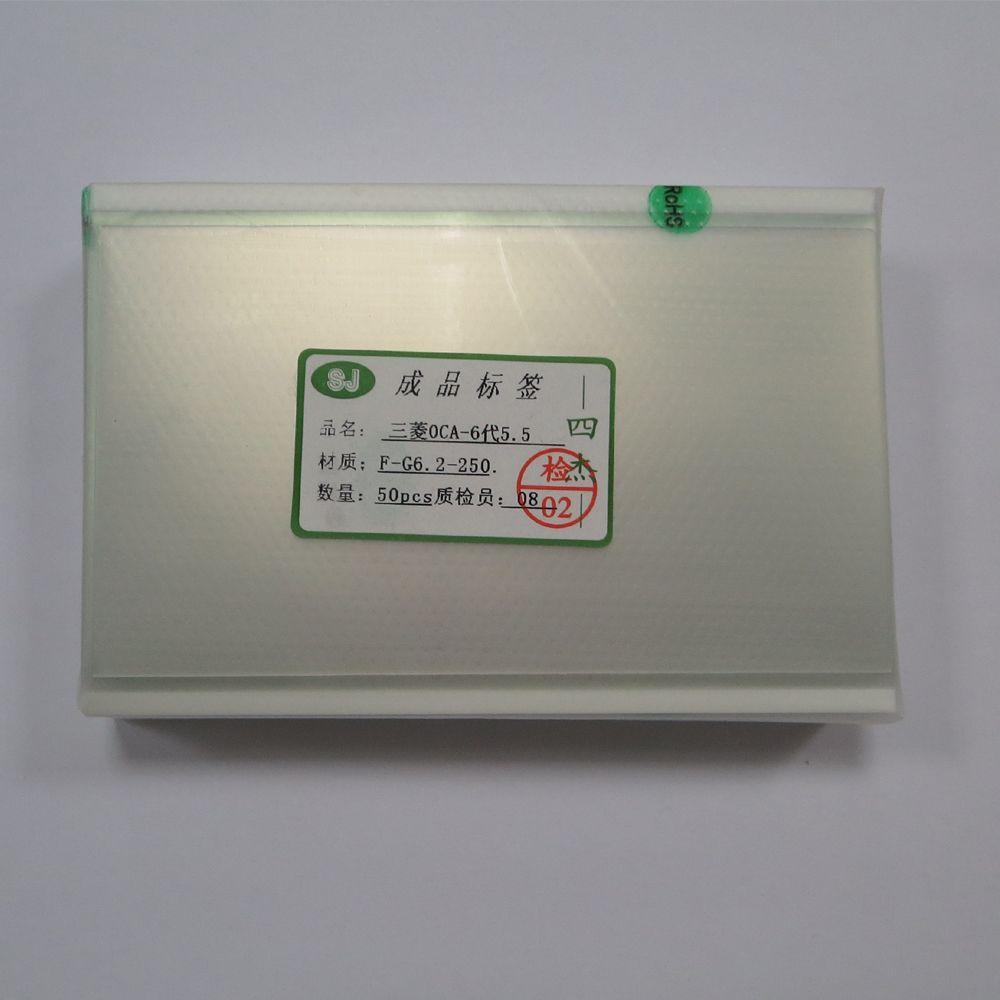 100 Unids / lote Pantalla LCD Piezas de Reparación 250um Película OCA Para iPhone 6s / 6s más Adhesivo Óptico Claro Adhesivo de Doble Cara