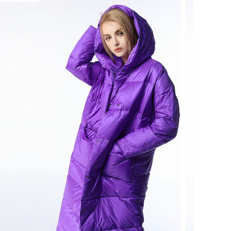 Vêtements d'extérieur Manteau d'hiver 2018 Bas Longue parka Thicken Femme Pardessus Designer en gros Vente Hot bas Veste à capuche