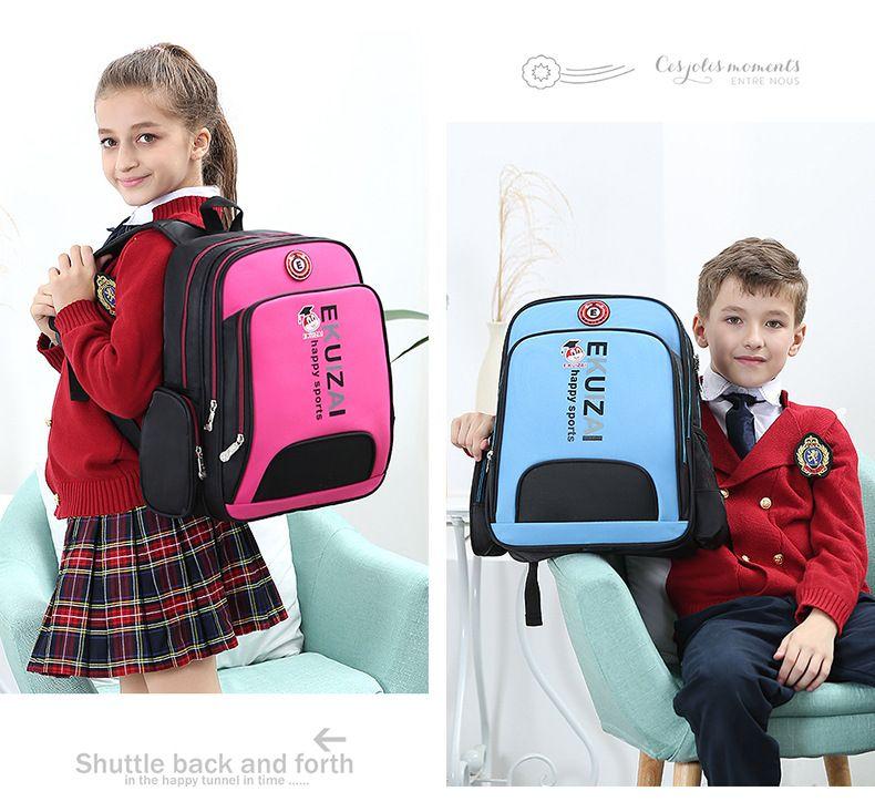 076adc4dda4a Cute School Bags Nylon Backpack Primary Kids Backpack For Boy Girl School  Book Bag Children Elementary Grade 1 6 Backpack Mens Shoulder Bags Womens  ...