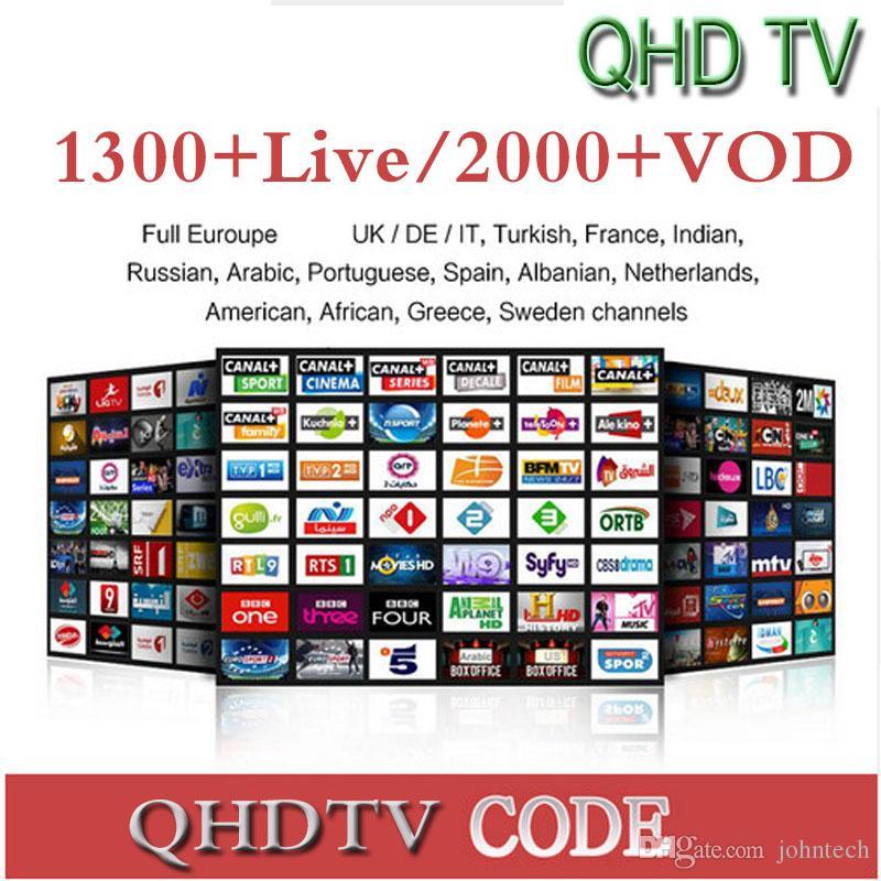 1 Years QHDTV Sports Italy UK Germany 1300+ Europe IPTV Arabic Iptv  Channels Streaming IPTV Account Apk Work On Android Smart Tv Hd Radio  Receiver