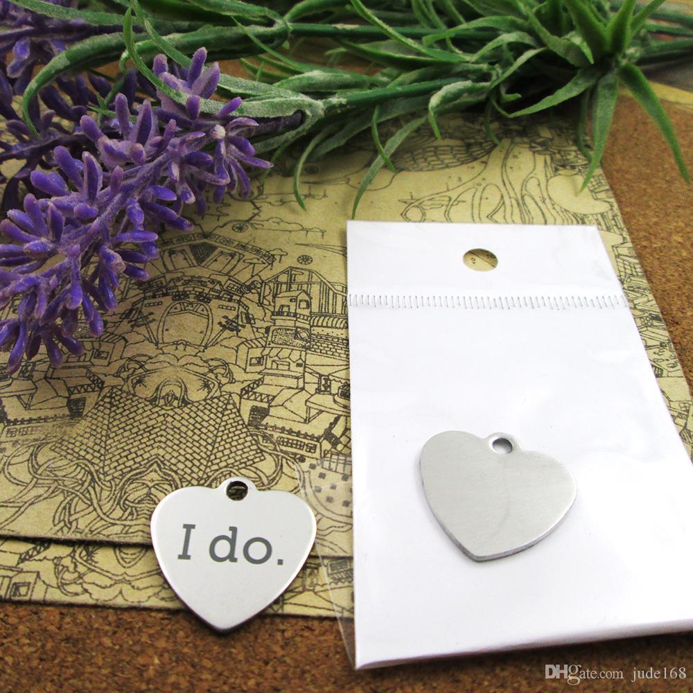 40шт - «я» прелесть из нержавеющей стали больше стиля для выбора DIY очаровывает подвески для ожерелья
