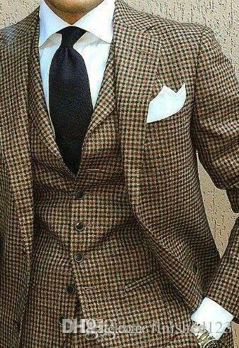Un design élégant Deux boutons de mariage smokings marié Notch Lapel Groomsmen Mens Blazer dîner costumes (veste + pantalon + veste + Tie) NO: 1559