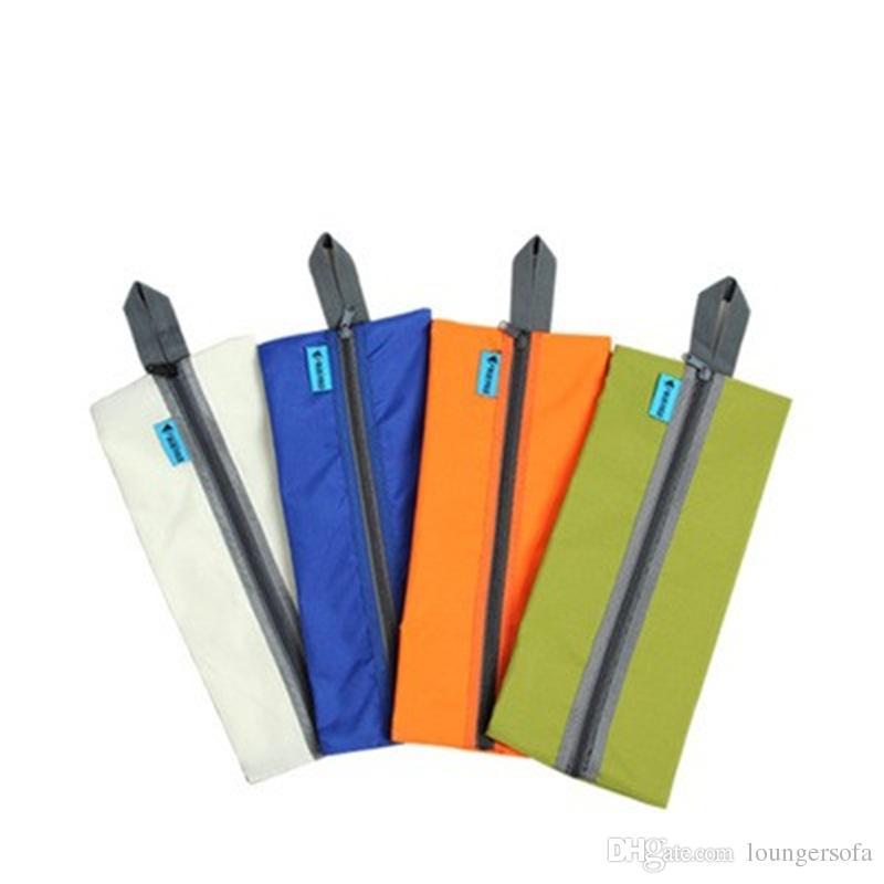 Sundries Bag Waterproof Shoe Package Washing Bags Parcel Necessary Outdoor Sports Anti Water Splashing Pure Color Reticule 5aj dd