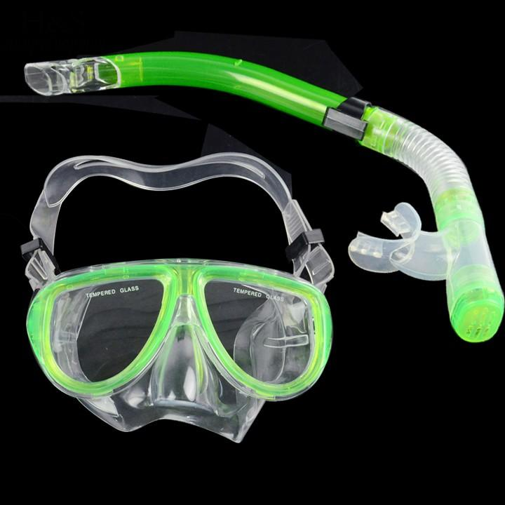 2017 New Dive Mask Diving Equipment Professional diving Mask Silicone spearfishing scuba gear swimming Dry Snorkel Set