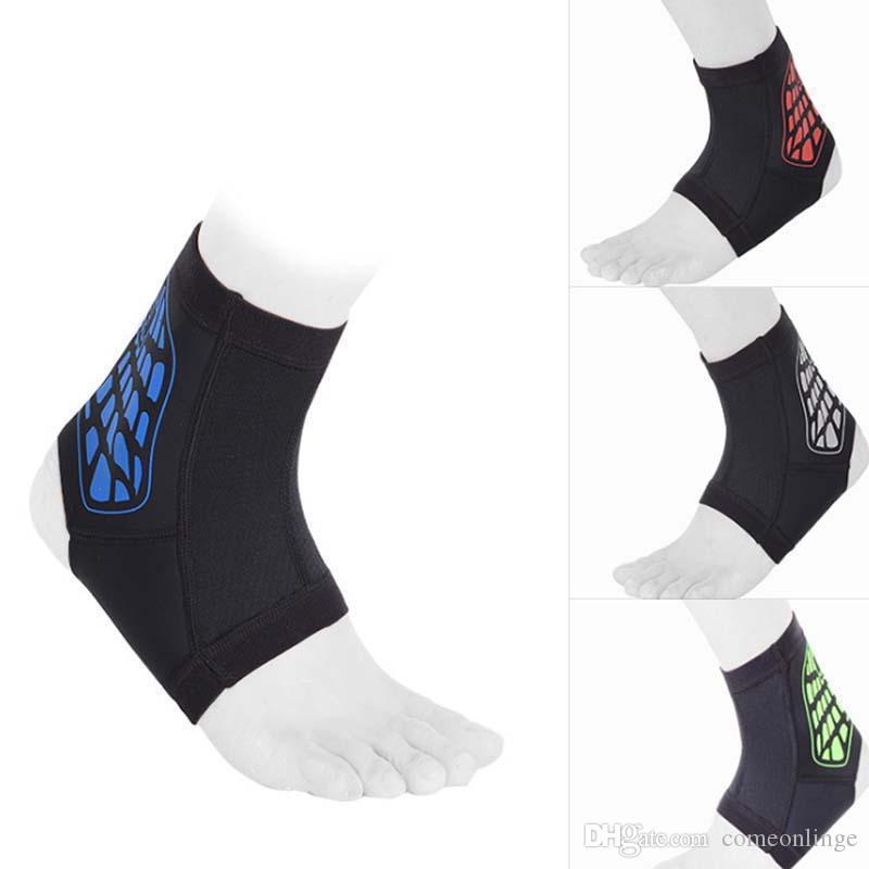Sport d'été pad cheville protéger cheville protection contre l'entorse respirant confort balle jeu course cheville brace sport protection