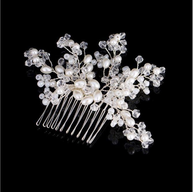 Gorros nupciales, perlas de imitación coreana, cabello de novia, estudio fotográfico y accesorios de maquillaje, accesorios nupciales.