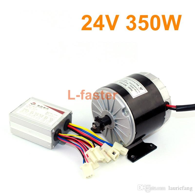 24V36V 350W Unitemotor MY1016 With Yiyun Controller Electric High Speed Brushed DC Motor With A 350W Electric Bike Controller