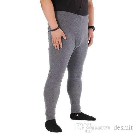Winter big size Men Thermal Underwear Super Soft Men's Cotton Pants plus size Long Johns Mens Tight Underwear 7XL 6XL 5XL 4XL