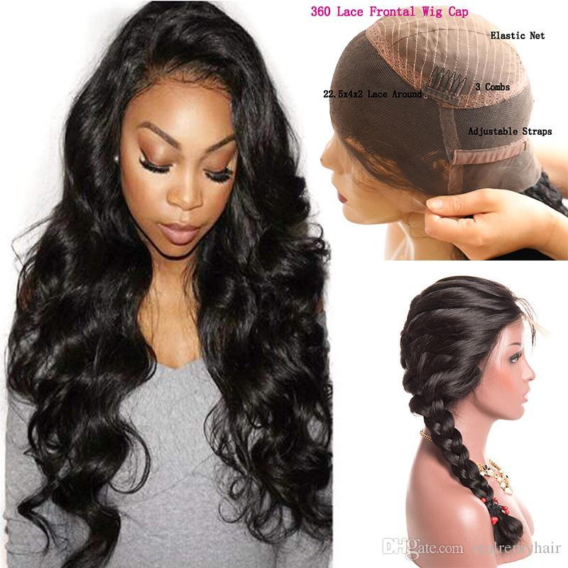 150 Density 360 Full Lace Front Human Hair