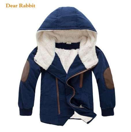 nouveau printemps automne enfants garçons vêtements manteau à capuche top qualité épaisse veste ouatée parkas enfant vêtements filles vêtements