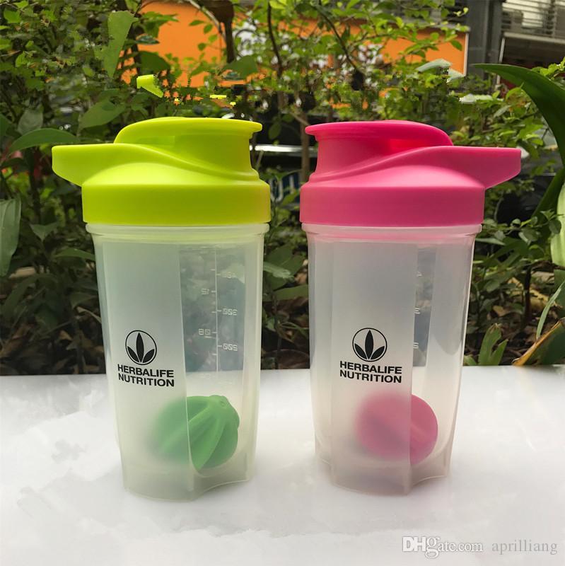 Herbalife Sports Water Bottle Shake Cup Cap Drink Portable Plastic 17oz//500ml