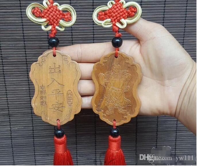 Wholesale - Car pendant hanging safe pendant Chinese knot indoor pendant lucky go safe Chinese knot