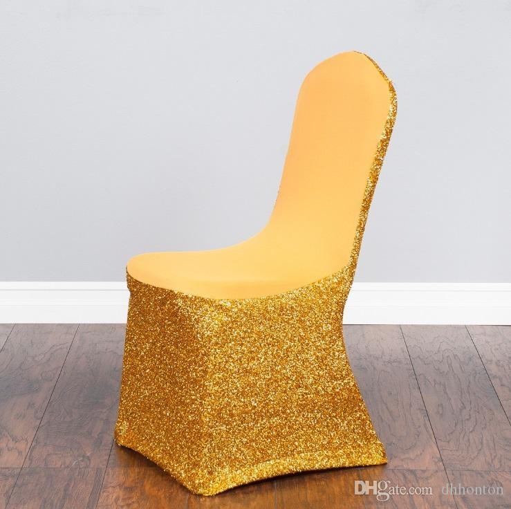 Fashion spandex chair covers Pseudoodle seat covers are colorful and customizable Wedding party general chair cover WT074