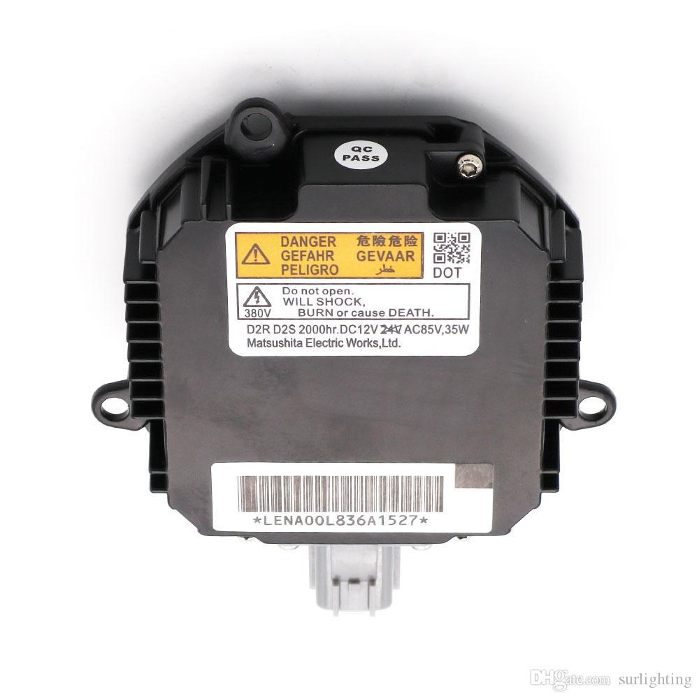 OEM D2S / D2R Xenon HID Matsushita Gen 4 Ballast28474-8992B (Xenon Light Control Unit) computer بدون Ignitor / Igniter