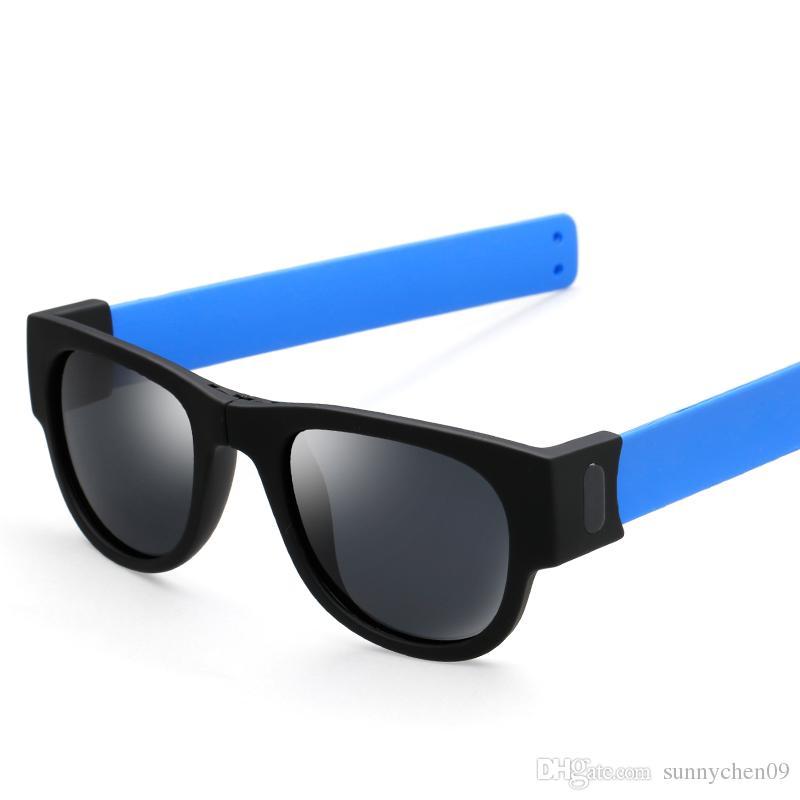 2018 Marca Nail Silicon Software de seguridad Polarized Cat's Eye Gafas de sol para niños Gafas para hombres y bebés Moda UV400 S