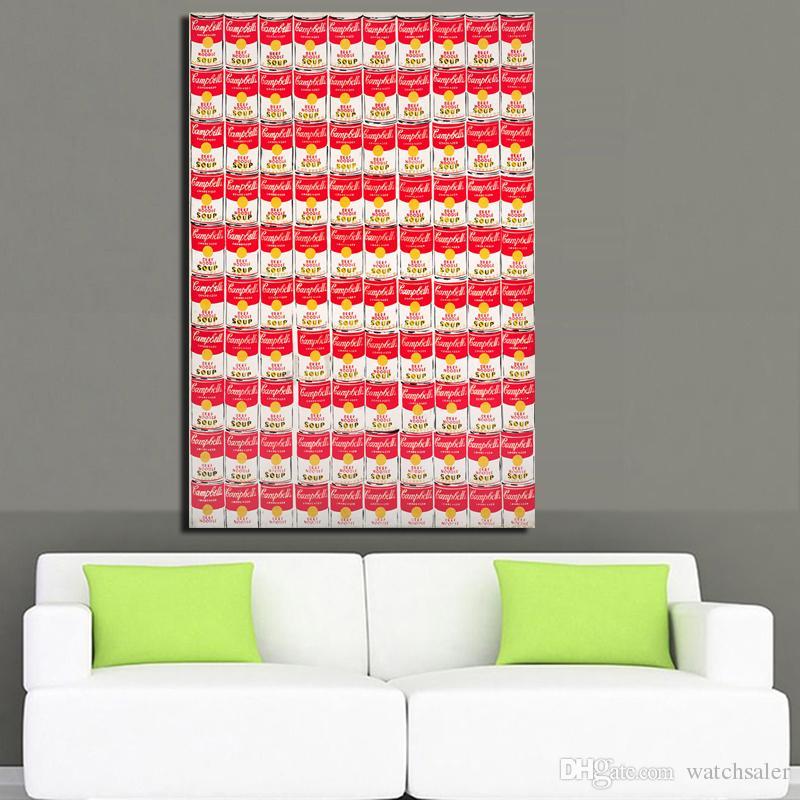 1 Painel Americano Street Art Pintura Abstrata Por Andy Red Scans Poster da parede de impressão em canvas Pictures Parede Home Decor No Frame