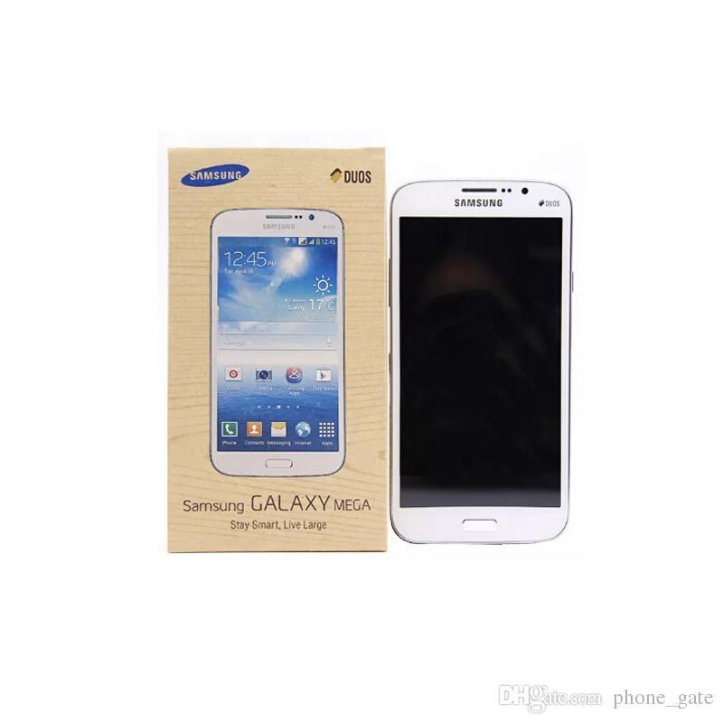 Yenilenmiş Samsung Galaxy Mega 5.8inch I9152 i9152 SmartPhone 1.5GB / 8GB 8.0MP WIFI GPS, Bluetooth WCDMA 3G 2G Cep Telefonu Unlocked