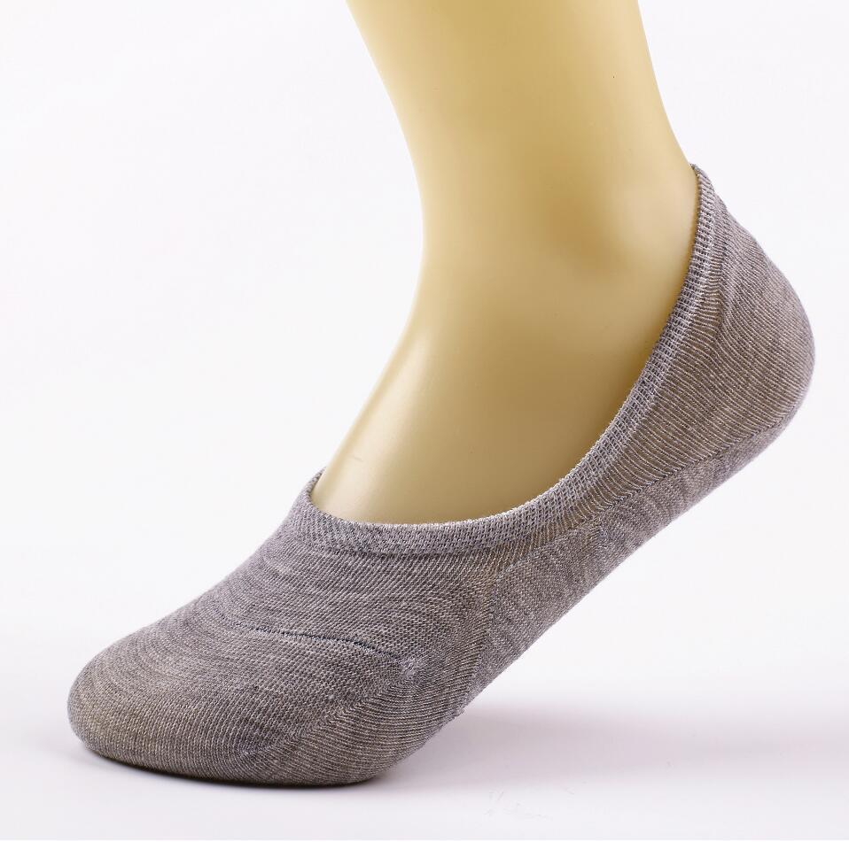14 piezas = 7 pares / lote de fibra de bambú antideslizante calcetines femeninos calcetines invisibles de verano para mujer antideslizante colores de caramelo envío de tobillo