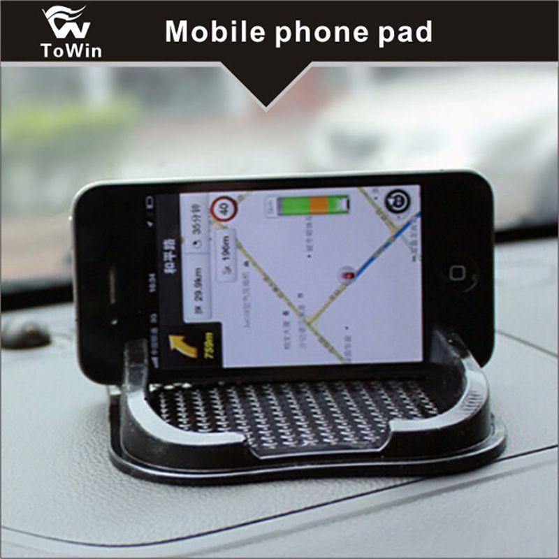 Car Non Slip Sticky Auto Anti-Slip Suporte Pad Mat Pad Para Telefone, Universal Multi-funcional carro Anti Pad de deslizamento.