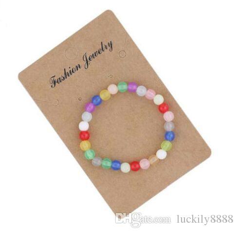 Darmowa Wysyłka 20 sztuk / partia Moda Biżuteria Charms Bransoletka Candy Beads Bransoletka Cute Bransoletki 20 CM