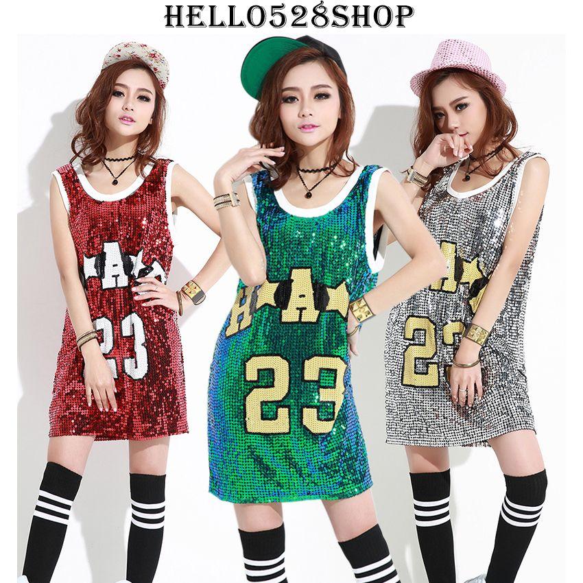 Gece kulübü DS Hiphop kadın Tankları Camiş-Pullu Kolsuz Yelek Tank Top Bayanlar Kostümleri Bluz Yaz