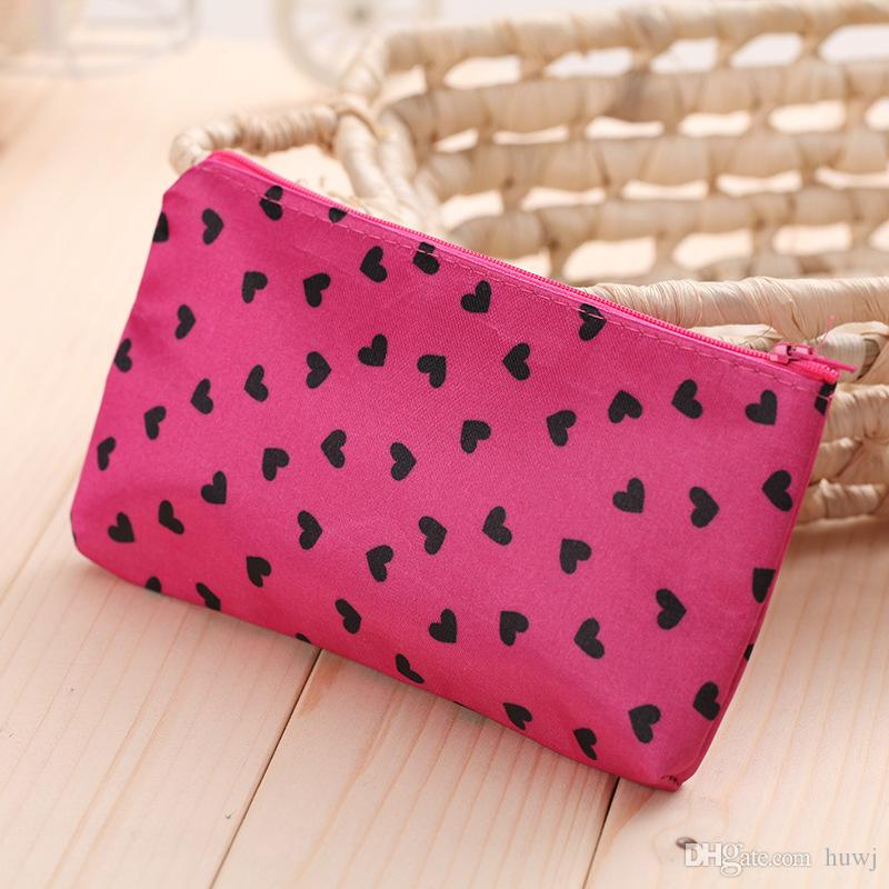 portable eco-friendly bags Cosmetic Bags & Cases collapsible storage bag travel bags