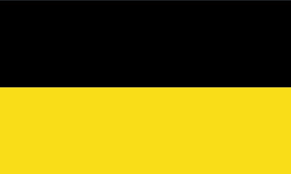 Flaga Niemcy Baden Württemberg 3FT X 5FT poliester banner latający 150 * 90 cm niestandardowa flaga na zewnątrz