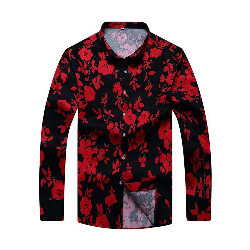 Tamanho grande 8XL 7XL clássico dos homens de algodão camisa de manga Longa camisa de vestido dos homens de negócios camisas formais Mens clothing camisa masculina