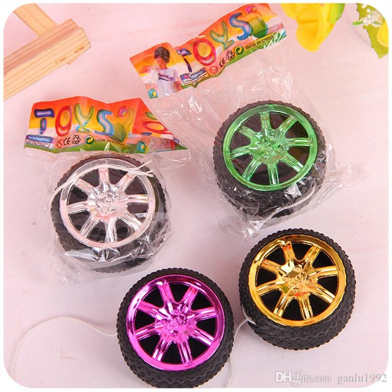 Children Creative Toy Wheel Shape Yoyo Ball Bearing String Popular Style Kids Toy Gift New Arrival 0 56jc W
