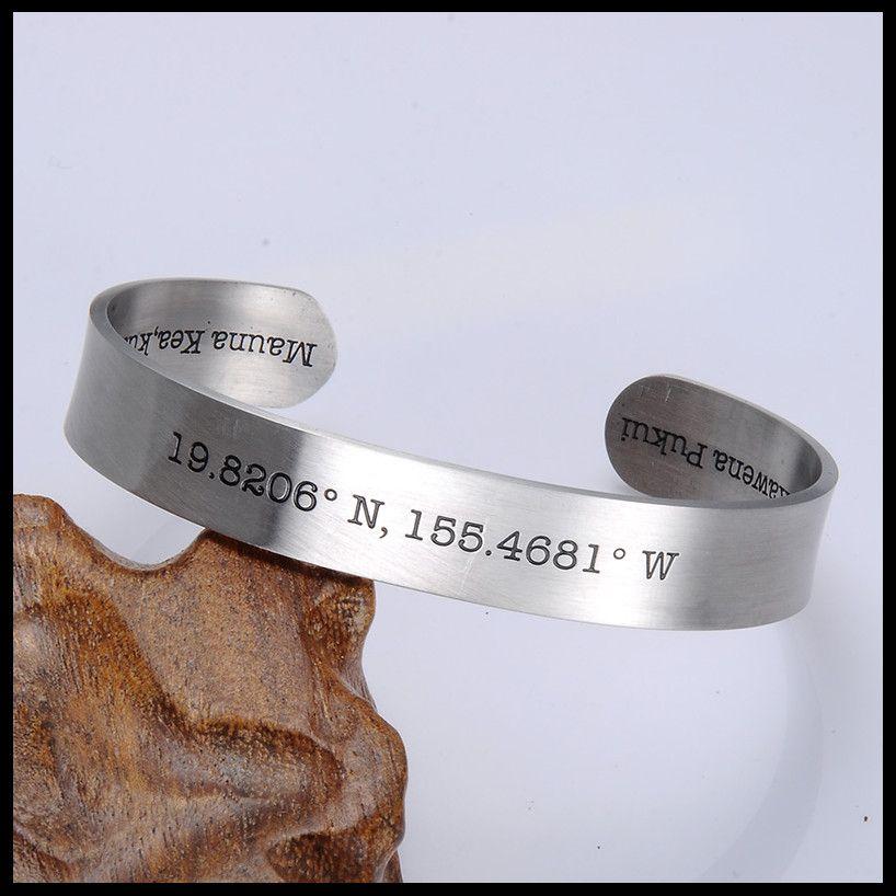 Bracciale per bracciale rigido coordinato da donna in acciaio inossidabile 316L con bracciale coordinato da donna