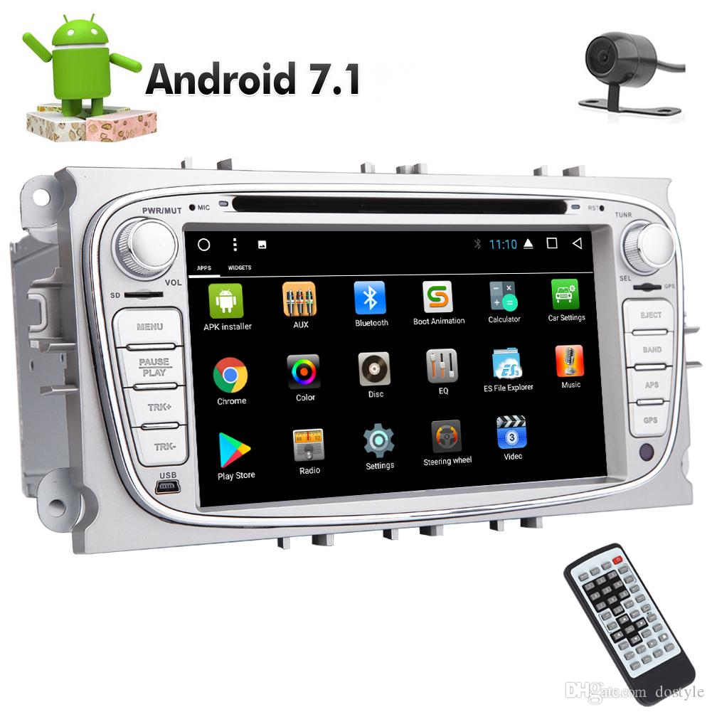 Backup Camera EINCAR In Dash Double Din Car Stereo Android 7.1 8 Core in Dash Car DVD Player for Ford Autoradio Bluetooth