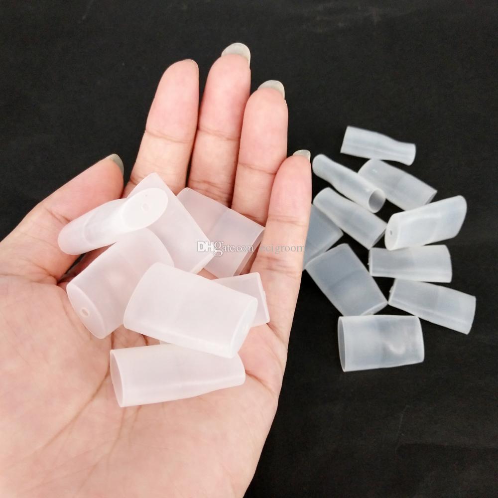 Beccuccio monouso in silicone tappo di protezione test test drip tips per pods piatto vape pod vgod stig COCO penna vape monouso vape pods