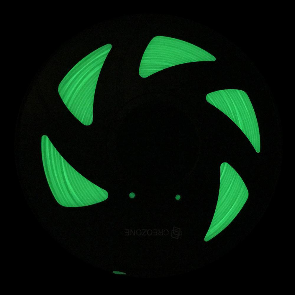 Freeshipping Glühen des Filaments 3D im Dunkeln Serie PLA-Kunststoff-Filament für 3D-Drucker Prusa i3 RagRap Green 1.75 1KG
