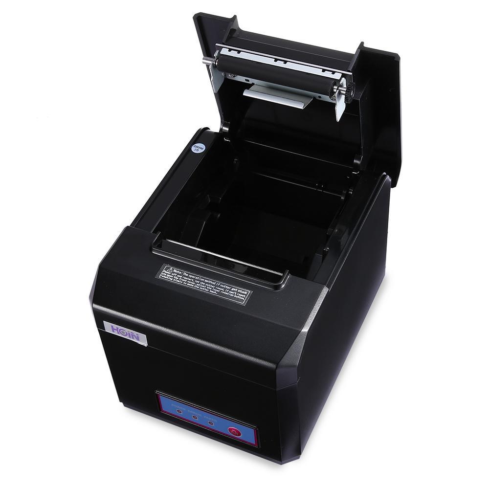 HOIN USB / WiFi / Termal Makbuz Printe 300mm / sn Ultra Yüksek hızlı Baskı Makbuz Yazıcı POS Sistemi Android iOS için Komple Makine