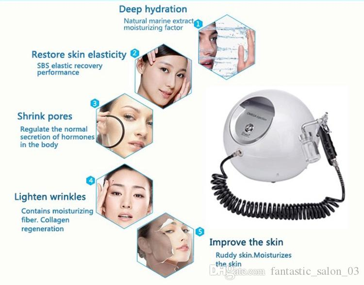 Home Use Portable Water Oxygen Jet Peeling Skin Care Acne Treatment Facial Rejuvenation Skin Moisturizing Machines Skin Care Oxygen Sprayer Oxygen Skin Care Oxygen