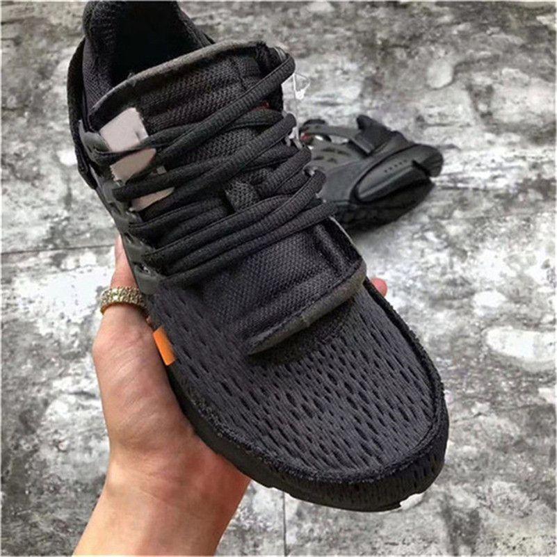 2019 2018 Release Presto 2.0 Black White Running Shoes For