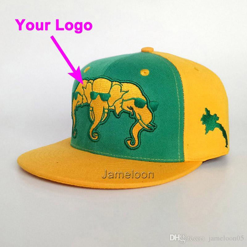 Yapış geri yakın 3D baskı oyuncu kapağı özelleştirme logo futbol tenis spor beyzbol hip-hop kap özel şapka