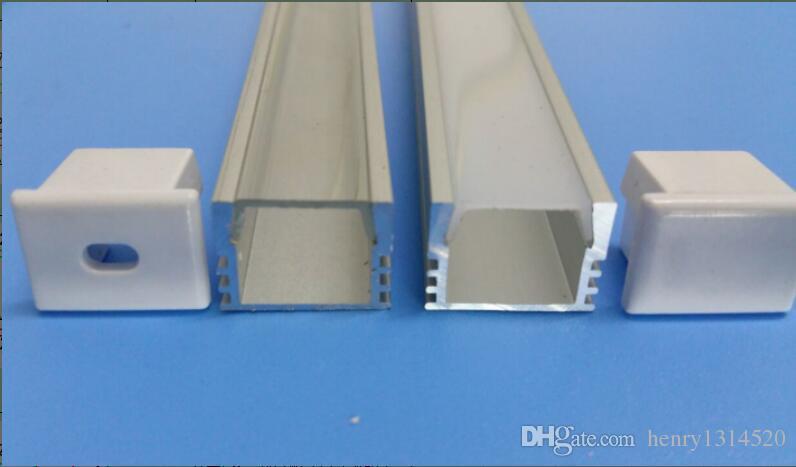 Consegna gratuita Costo di consegna libero di costo di vendita calda di piccole dimensioni 11 millimetri largo LED Strip LED Canale profilo Profilo estrusione di alluminio