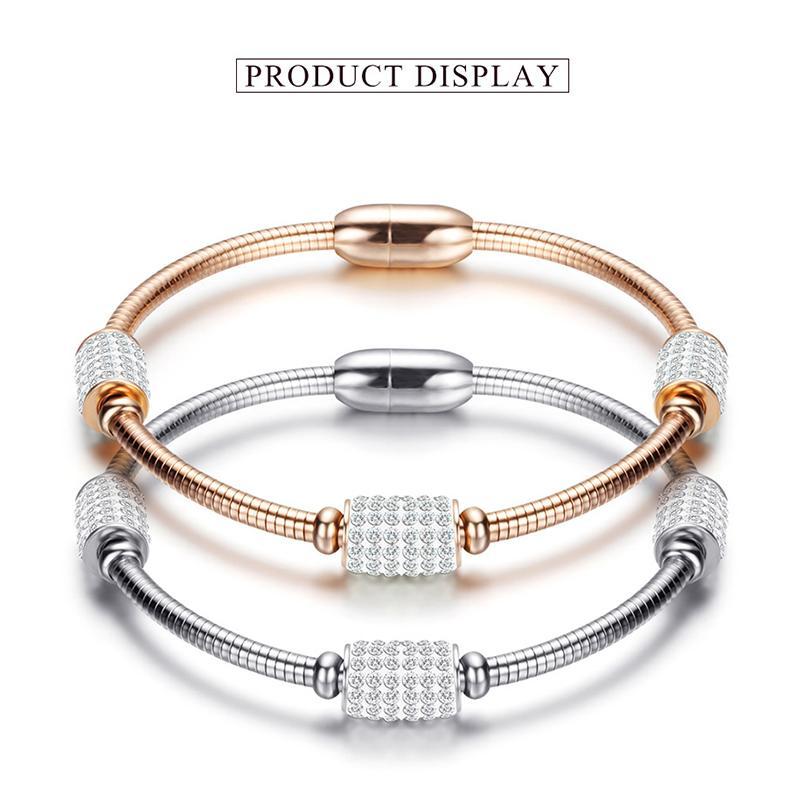 bracelet femme acier