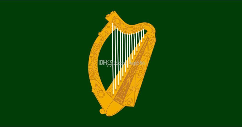 Irlandia Flaga Leinster 3FT X 5FT Poliester Banner Latający 150 * 90 cm Niestandardowa flaga na zewnątrz
