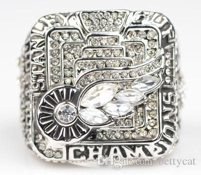 Newest Men fashion jewelry 2006 red skins championship ring sports fans collection souvenirs Christmas gift